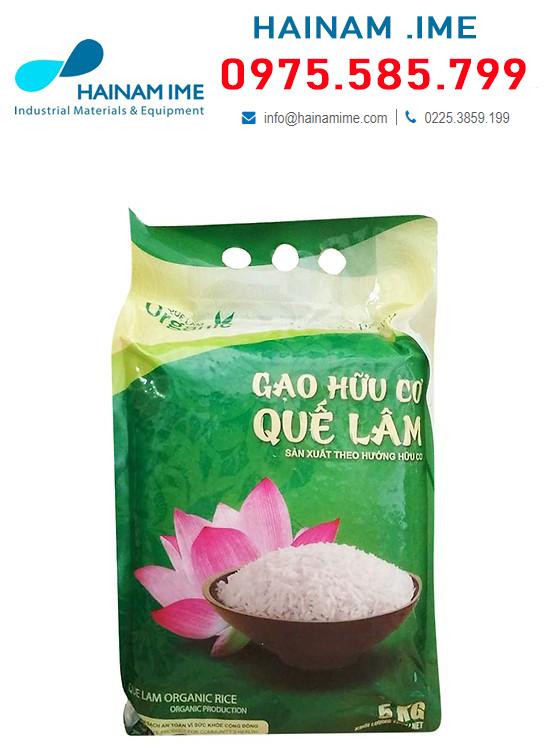 In túi đựng gạo, Túi đựng gạo được sản xuất từ hạt nhựa PP, PE, PA